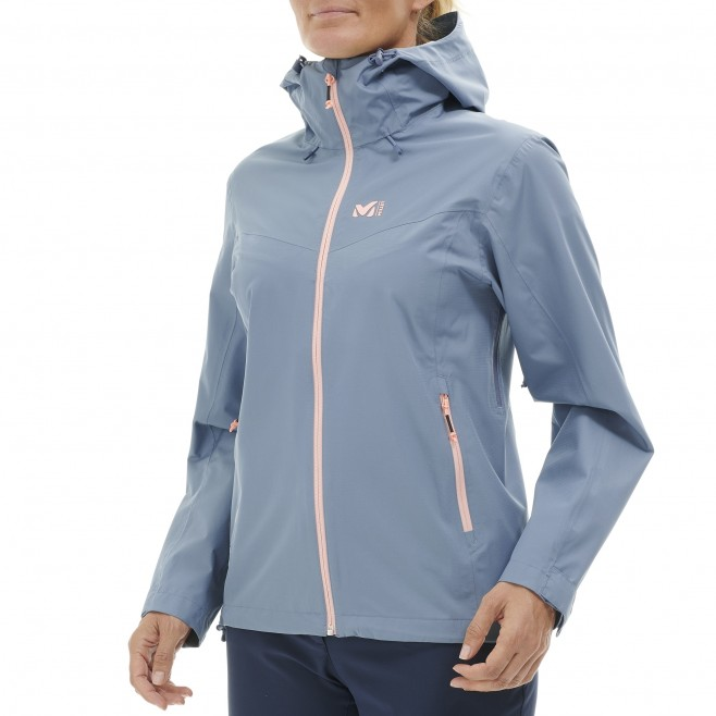 Women's waterproof jacket - blue FITZ ROY III JKT W Millet 2