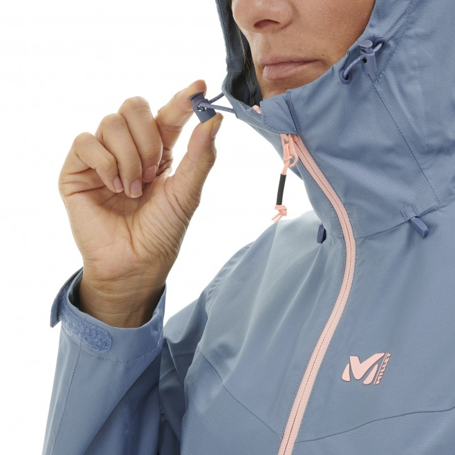 Women's waterproof jacket - blue FITZ ROY III JKT W Millet 6