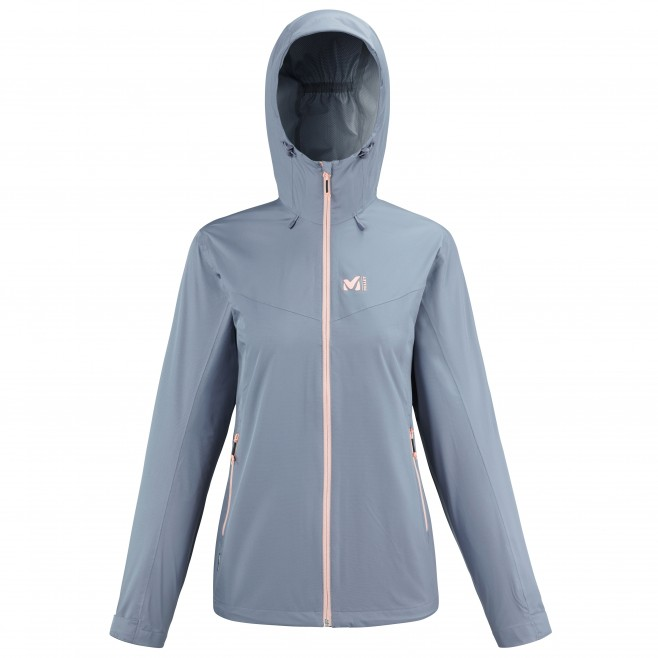 Women's waterproof jacket - blue FITZ ROY III JKT W Millet