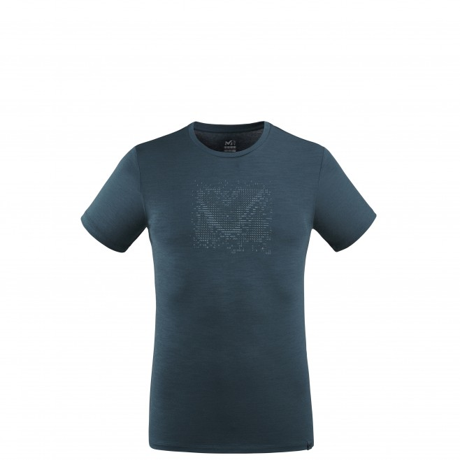 Men's tee-shirt - navy-blue DENSITY WOOL TS SS M Millet