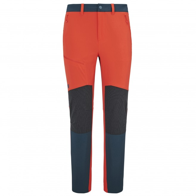 Men's  softeshell pant - red IRON XCS CORDURA PT M Millet