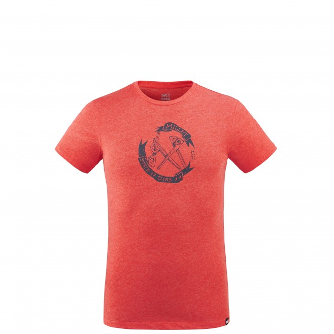 Men's tee-shirt - red OLD GEAR TS SS M Millet