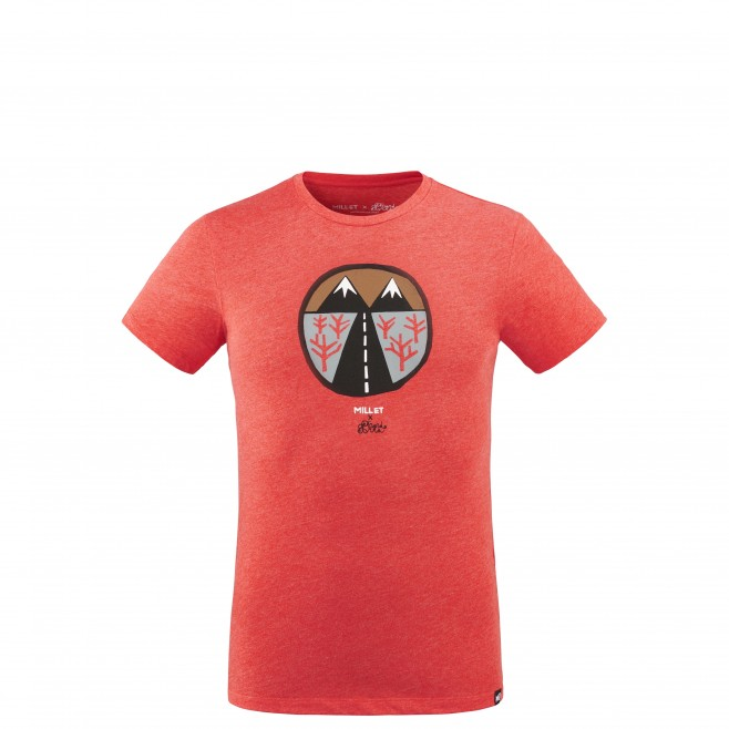 Men's tee-shirt - red F. ELVIRA LIMITED TS SS M Millet