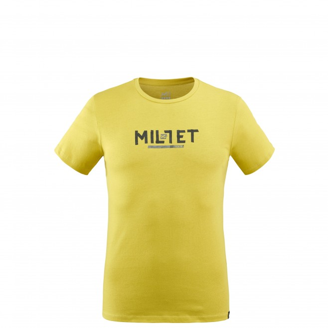 Men's tee-shirt - green TAPE LOGO TS SS M Millet