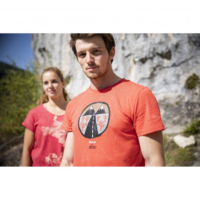 Women's tee-shirt - red ANGEL LIMITED TS SS W Millet 2