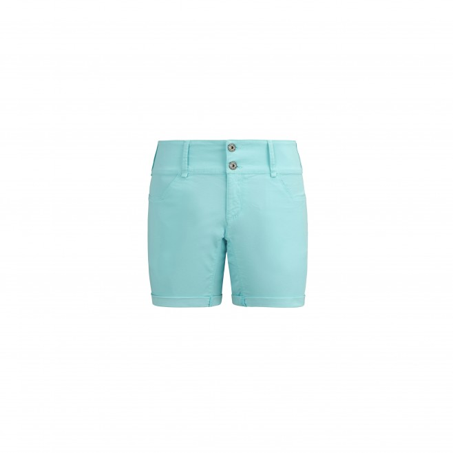 Women's short - turquoise RED WALL STRETCH SHORT W Millet