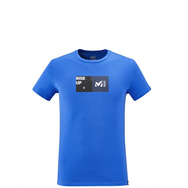 Men's tee-shirt - blue MILLET SQUARE TS SS M Millet