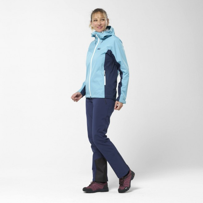 Women's softshell pant  - navy blue TRACK III PANT W Millet 6
