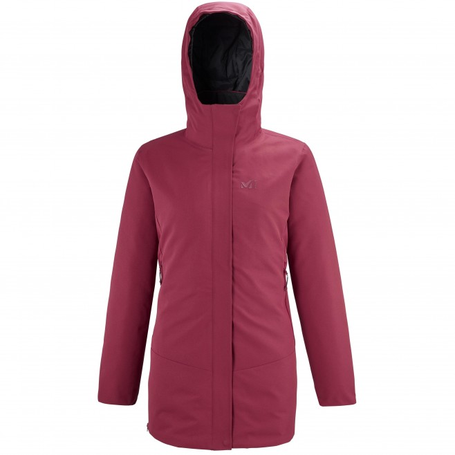 Women's waterproof jacket - red TENO PARKA W Millet