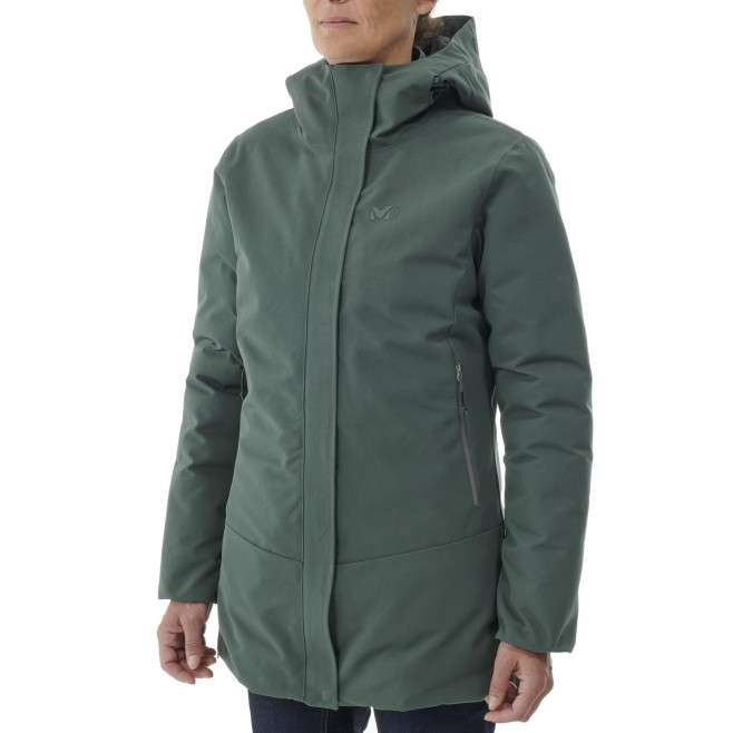 Women's waterproof jacket - black TENO PARKA W Millet 2