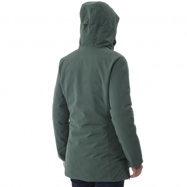 Women's waterproof jacket - black TENO PARKA W Millet 6