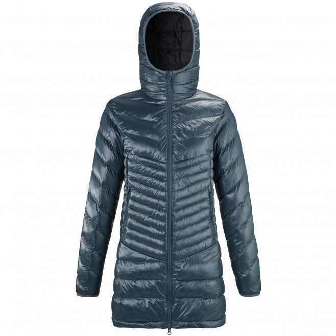 Women's downjacket - navy-blue NIDELVA PARKA W Millet