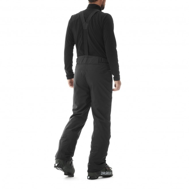 Men's waterproof pant - black ALAGNA STRETCH PT M Millet 3