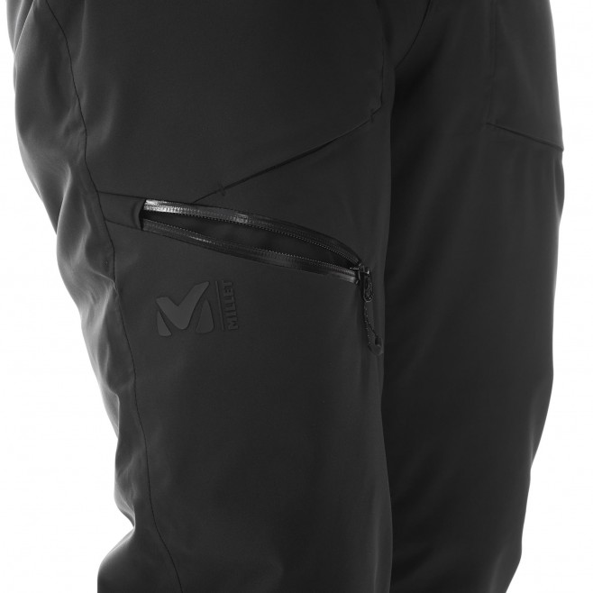 Men's waterproof pant - black ALAGNA STRETCH PT M Millet 5
