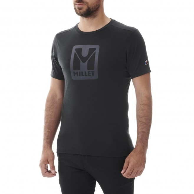 Men's tee-shirt - black TRILOGY LOGO TS SS M Millet 2