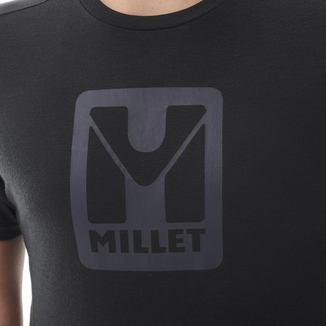 Men's tee-shirt - black TRILOGY LOGO TS SS M Millet 4