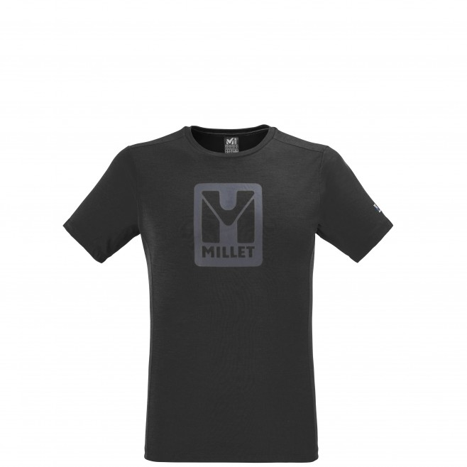 Men's tee-shirt - black TRILOGY LOGO TS SS M Millet