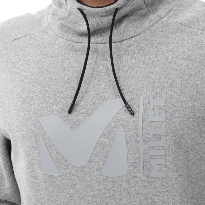 Men's sweat - brown MILLET SWEAT HOODIE M Millet 5
