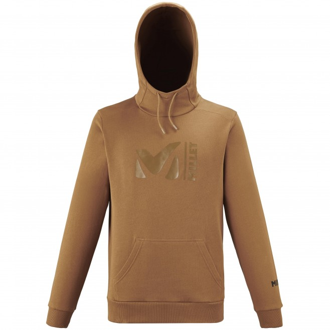 Men's sweat - brown MILLET SWEAT HOODIE M Millet