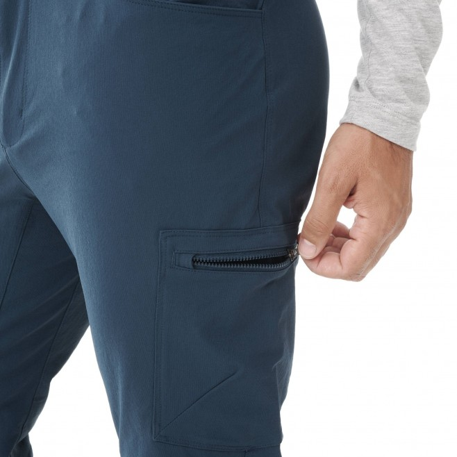 Men's wind resistant pant - navy-blue WANAKA FALL STRETCH PANT M Millet 4