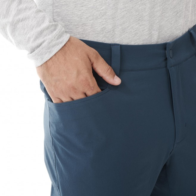 Men's wind resistant pant - navy-blue WANAKA FALL STRETCH PANT M Millet 5