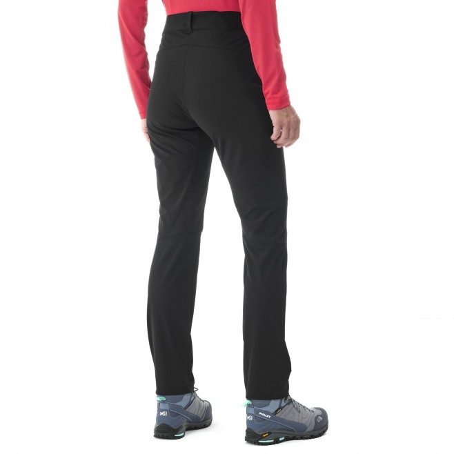 Women's wind resistant pant - black WANAKA FALL STRETCH PANT W Millet 5