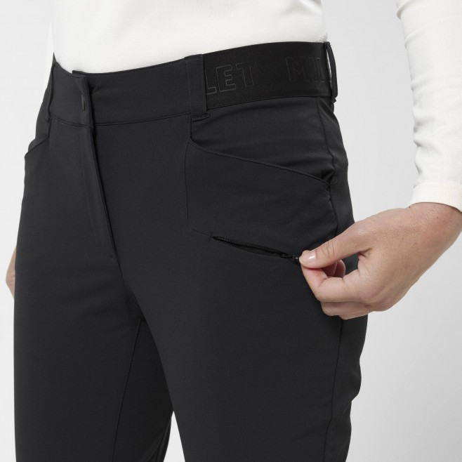 Women's wind resistant pant - navy-blue WANAKA FALL STRETCH PANT W Millet 5