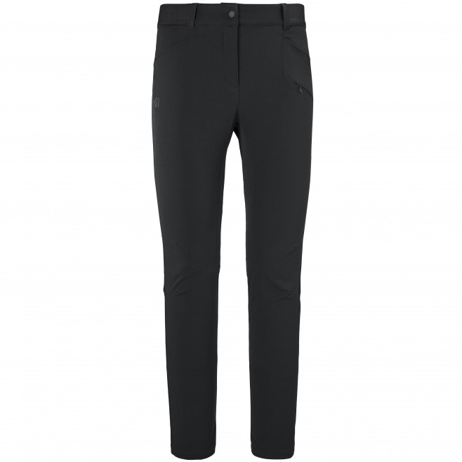 Women's wind resistant pant - black WANAKA FALL STRETCH PANT W Millet