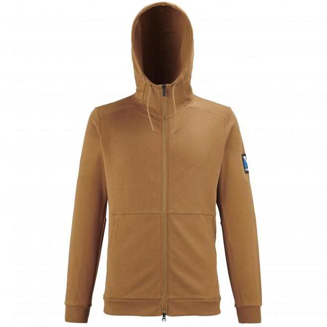 Men's sweat - brown TRILOGY SWEAT HOODIE M Millet