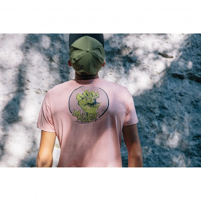 Men's  tee-shirt - pink LIMITED COLORS TS SS M Millet 3