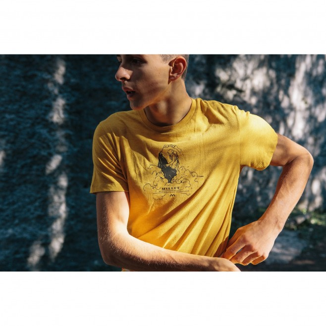 Men's  tee-shirt - brown LIMITED COLORS TS SS M Millet 3