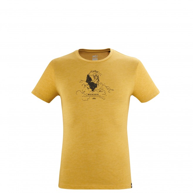 Men's  tee-shirt - brown LIMITED COLORS TS SS M Millet
