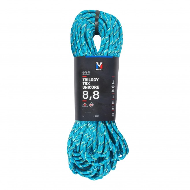 rope - blue TRILOGY TRX UNICORE 8,8 070P Millet