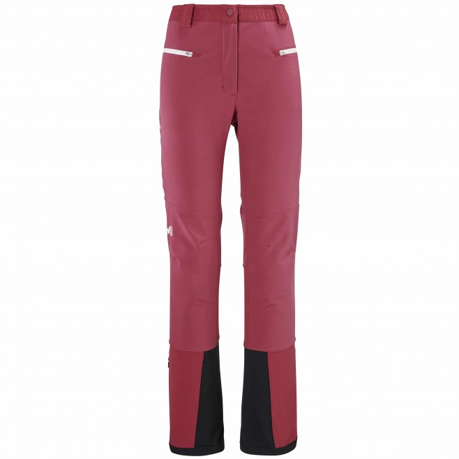 Women's wind resistant pant - red TOURING SHIELD PT W Millet