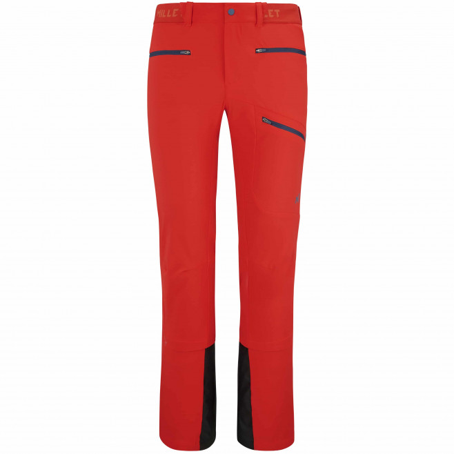 Men's softshell pant - red EXTREME RUTOR SHIELD PT M Millet