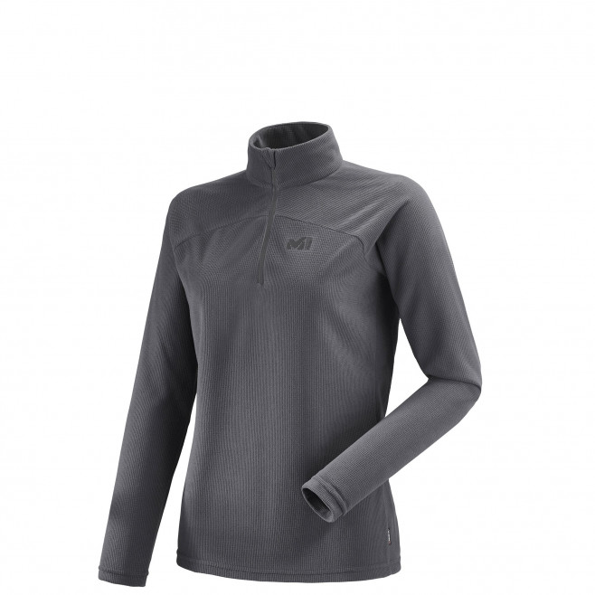 Women's very warm fleecejacket - grey K LIGHTGRID PO W Millet