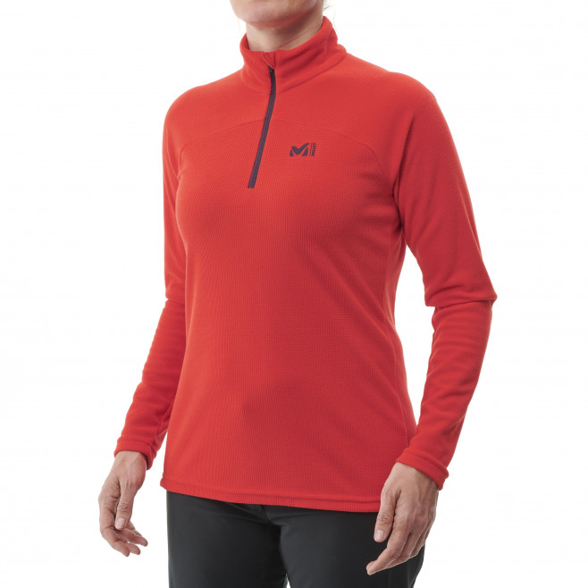 Women's very warm fleecejacket - red K LIGHTGRID PO W Millet 2