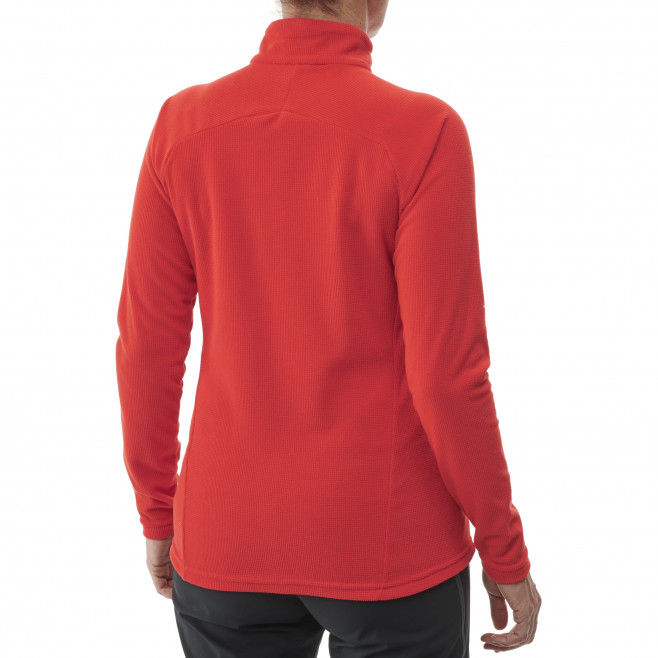 Women's very warm fleecejacket - red K LIGHTGRID PO W Millet 3