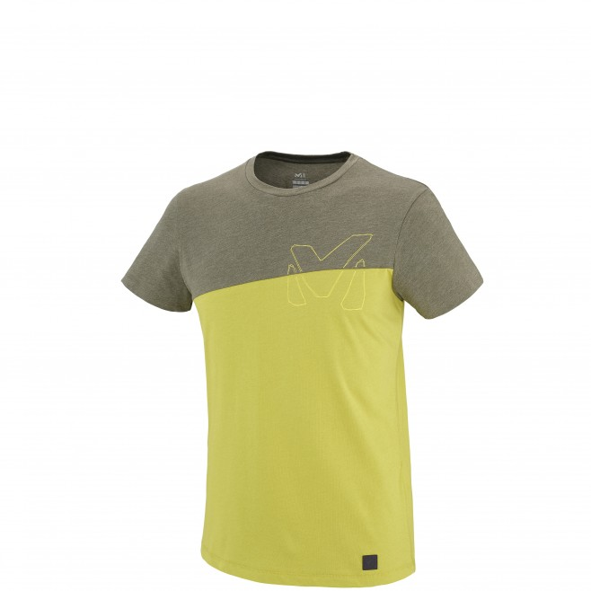 Men's short sleeves t-shirt - climbing - green GOLDEN TS SS Millet
