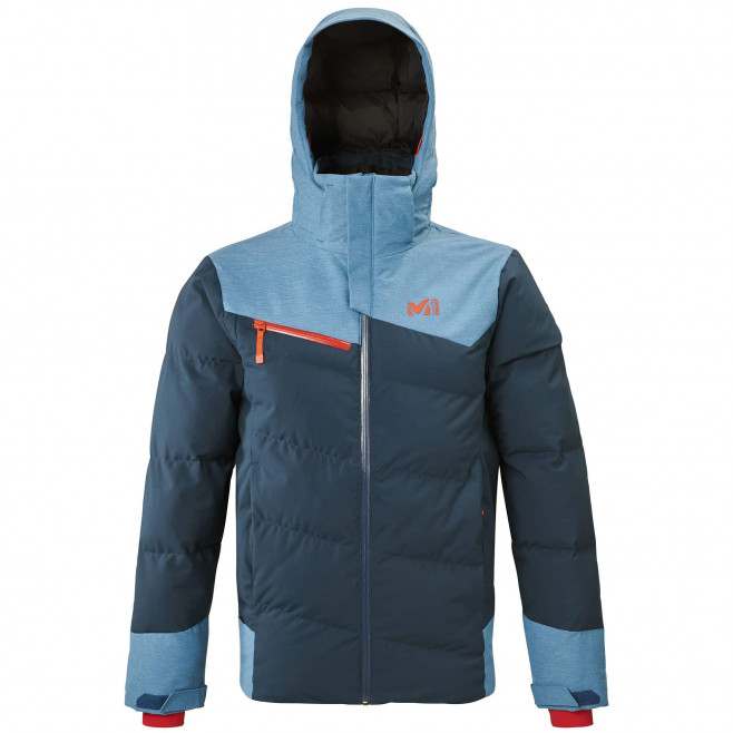 Men's waterproof jacket - navy-blue SUN PEAKS STRETCH JKT M Millet