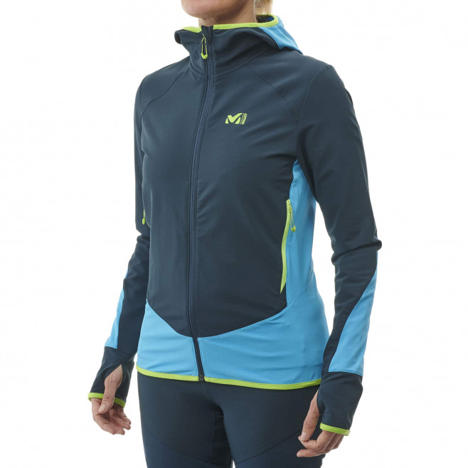 Women's softshell jacket - navy-blue EXTREME TOURING FIT JKT W Millet 3