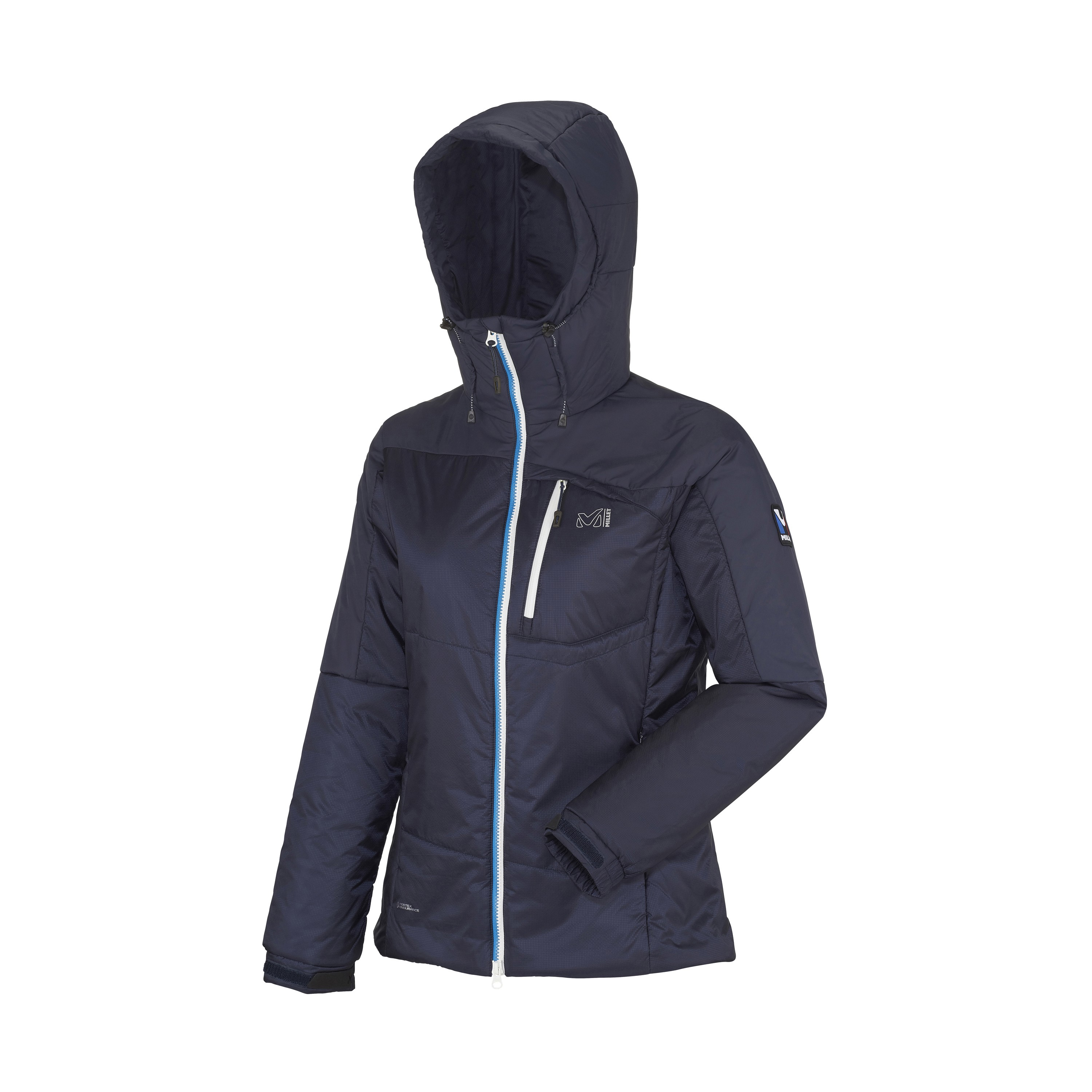 Women Down Jackets Jaket Hoodie Jumper Abslt Ld Trilogy Primaloft Millet International