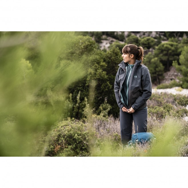 Chaqueta impermeable - Mujer - caqui HIGHLAND 2L JKT W Millet 2