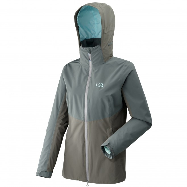 Chaqueta impermeable - Mujer - caqui HIGHLAND 2L JKT W Millet