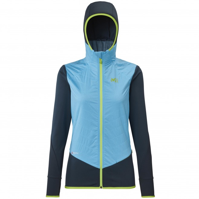 Vellón - Mujer - azul EXTREME RUTOR ALPHA COMPO HOODIE W Millet