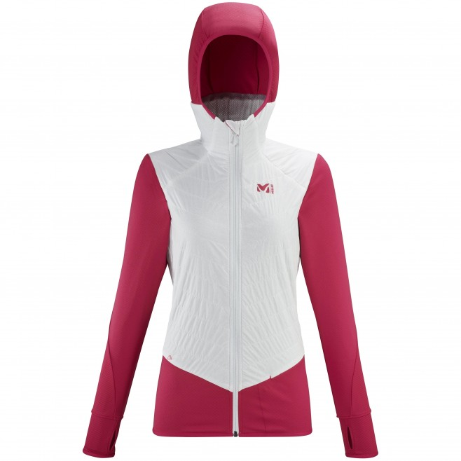 Vellón - Mujer - blanco EXTREME RUTOR ALPHA COMPO HOODIE W Millet
