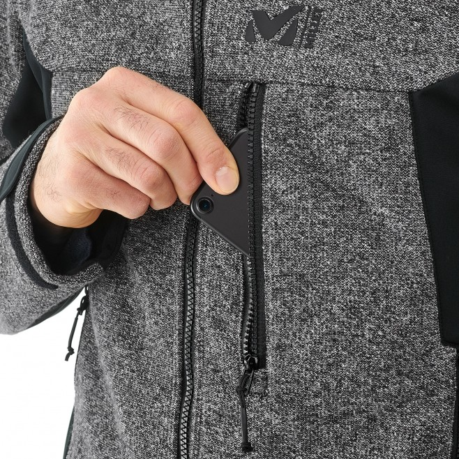 Chaqueta Softshell - hombre - gris PAYUN HOODIE M Millet 5
