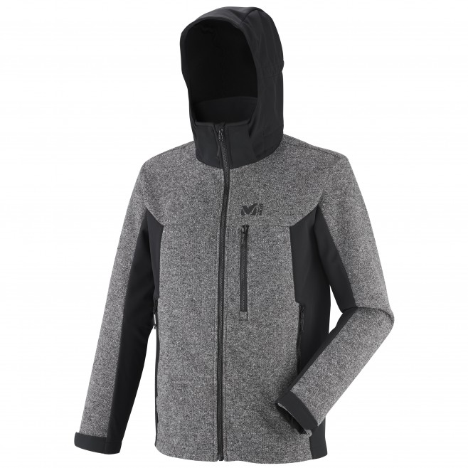 Chaqueta Softshell - hombre - gris PAYUN HOODIE M Millet