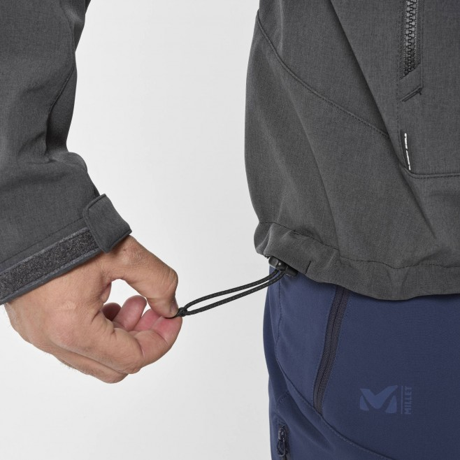 Chaqueta Softshell - Hombre - gris TRACK HOODIE M Millet 6