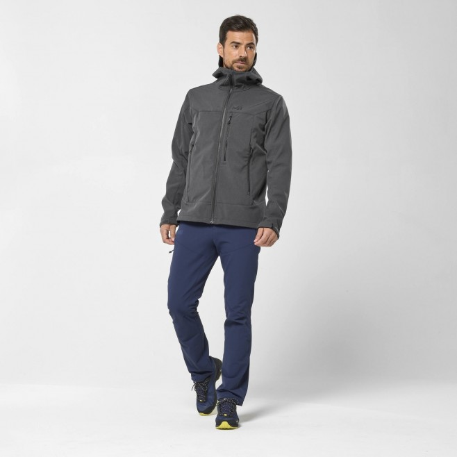 Chaqueta Softshell - Hombre - gris TRACK HOODIE M Millet 7